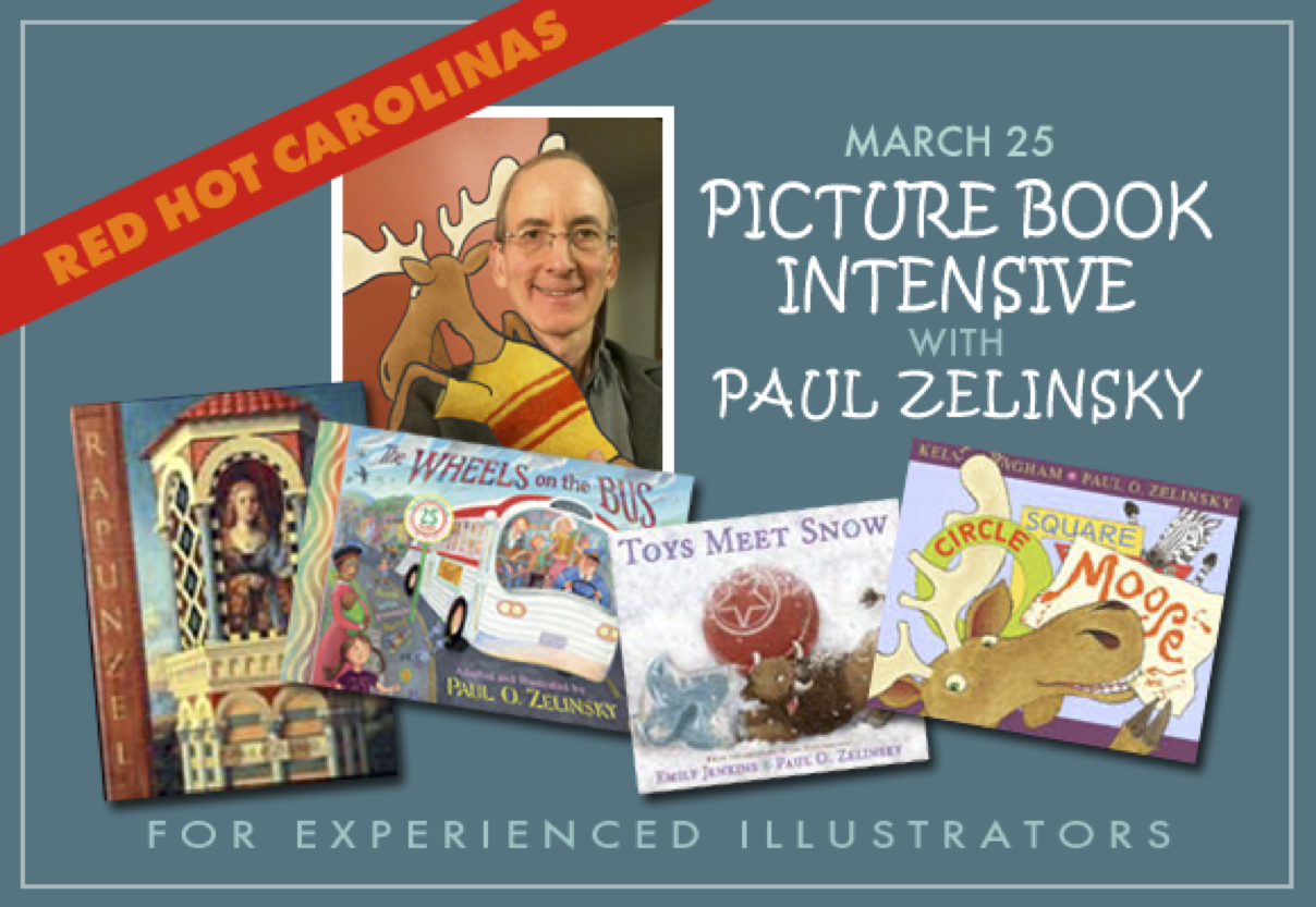 Picture Book Intensive with Paul Zelinsky
